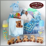 Baby Boy Blessings Gift Basket