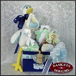 Special Delivery- Little Boy Gift Basket