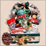 Rustic Holiday Crate