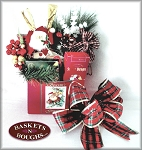 Seasons Greetings Gift Basket Box