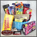 Snack Attack Candy Gift Basket Blue