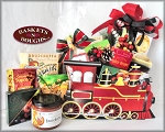 Holiday Train Gift Basket